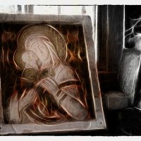 Икона Казанской Божьей матери.17 век. :: Павлова Татьяна Павлова