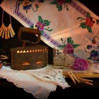 Старинный  утюг на углях... :: Нэля Лысенко