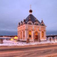 Вид на часовню Николая Чудотворца. :: Maxim Semenov