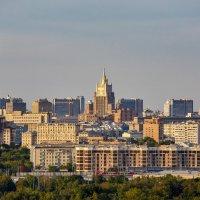 Москва. Городской пейзаж :: Николай Николенко