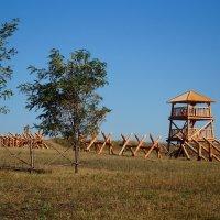 Крепость у с.Большие Кульбаки :: Сергей Щеблыкин