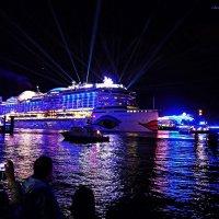 Blaue Nacht Hamburg. AIDA prima. :: Nina Yudicheva