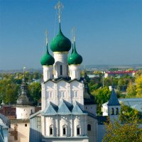 Надвратный Храм Иоанна Богослова :: Vera Ostroumova