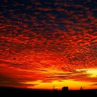 Закат над городом :: Дмитрий Учителев