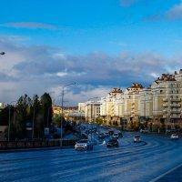 Спуск с моста в Астане :: astanafoto kazakhstan