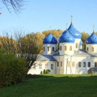 Крестовоздвиженский собор Свято-Юрьева монастыря :: Валентина