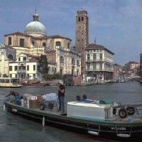 Venezia. La chiesa di San Geremia, Ingresso al canale Cannaregio. :: Игорь Олегович Кравченко