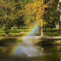 Солнечный фонтан. :: barsuk lesnoi
