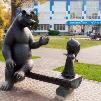 Маша и медведь :: Виктория Колпакова