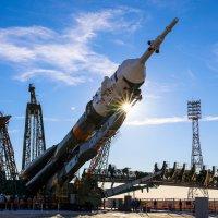 вертикализация Союз МС-10 :: Михаил Бояркин