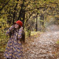 на прогулке в парке :: Светлана Бурлина