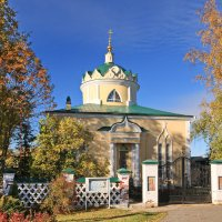 Вознесенская церковь. 18век. :: Ирина Нафаня