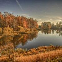 Осенний пейзаж :: николай смолянкин