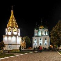 ночь наступила на Кремль г. Коломна :: Георгий