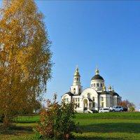 Михаило-Архангельский храм в селе Меркушино :: Leonid Rutov