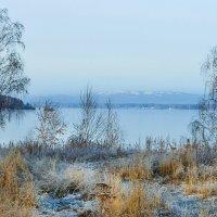 Утро первого льда :: Ирина АЛЕКСАндрович