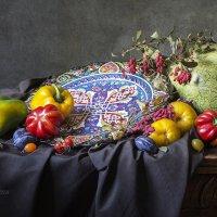 Натюрморт с турецкой тарелкой :: Татьяна Карачкова