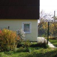 калитка в осенний сад :: Анна Воробьева