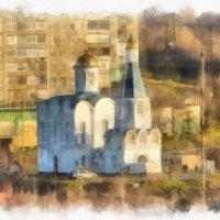 Церковь Спаса-на Водах Мурманск :: Светлана marokkanka