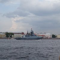 Нева Санкт-Петербург , праздник ВМФ :: Sabina