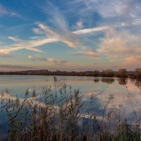 вечер на озере :: Виктор Ковчин
