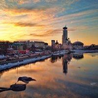 Закат на реке :: Сергей Малашкин
