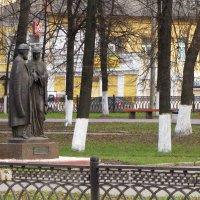 Памятник Петру и Февронии :: ИРЭН@ .