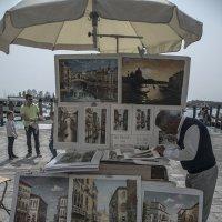 Venezia. Venditore di quadri. :: Игорь Олегович Кравченко
