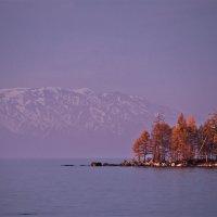 Октябрьский вечер на Байкале :: Павел Федоров