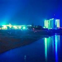 Мёртвое море ночью :: Игорь Герман