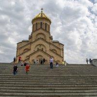 Ступеньки ведущие к храму в облаках :: Marina Timoveewa