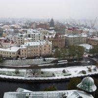 Первый снег в Выборге :: Ольга