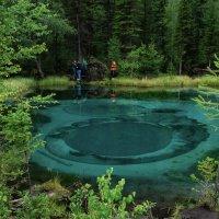 Гейзерное озеро. :: Юрий Харченко