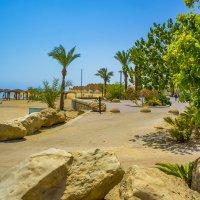 Пляж на Мёртвом море в Эйн Боеэк :: Игорь Герман