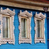 А на окне - наличники... :: Вячеслав Маслов