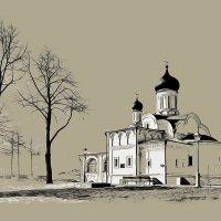 Москва. Храм зачатия праведной Анны, что в углу. :: В и т а л и й .... Л а б з о'в