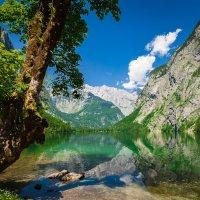 Горное озеро. :: Alexander