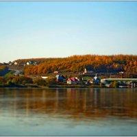 река Северский донец. Осень :: Сергей Щеблыкин
