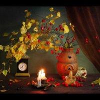 В теплом свете свечей...( Осенний театр ) :: Маргарита Епишина