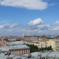 крыши города :: Галина