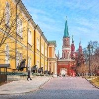 Арсенал и Никольская башня Кремля :: Юлия Батурина