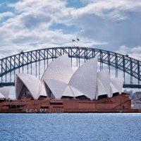 Сиднейская опера и Харбор-Бридж :: slavado