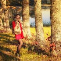 девушка на озере :: Александр Заяц
