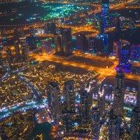 ночной Дубай :: Георгий А