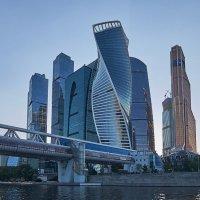 Московский международный деловой центр «Москва-Сити». :: Олег Кузовлев