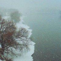 1.Москва - река зимой :: Николай Мартынов