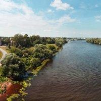3.вид на Москву - реку и город Бронницы :: Николай Мартынов