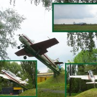 """Лучший самолёт... Памятник и """"живой"""" на лётном поле... ЯК-52 :: Тамара Бедай"""