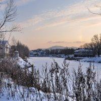 Голубые тени декабря.. :: Регина Волгина