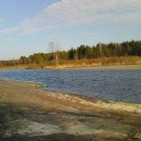 Река Поля у деревни Воронинская :: Виктор Мухин